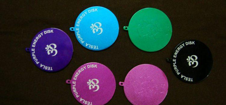 Tesla Purple Positive Energy Plates